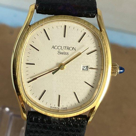 Bulova Other - VINTAGE Bulova Day Date Accutron Swiss Watch